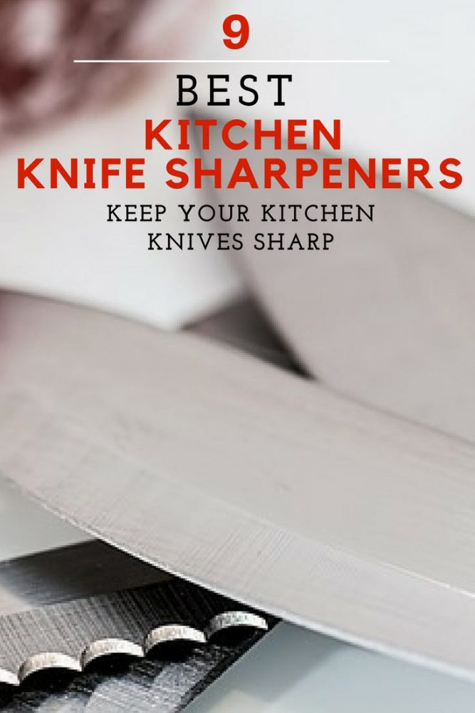 Looking for the best knife sharpener for your kitchen? Find all the best ones in this guide.