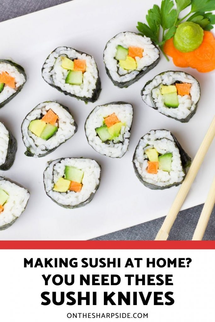 Best Sushi Knives for Making Sushi at Home