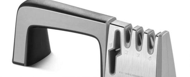 Synerky 4-in-1 kitchen knife sharpener