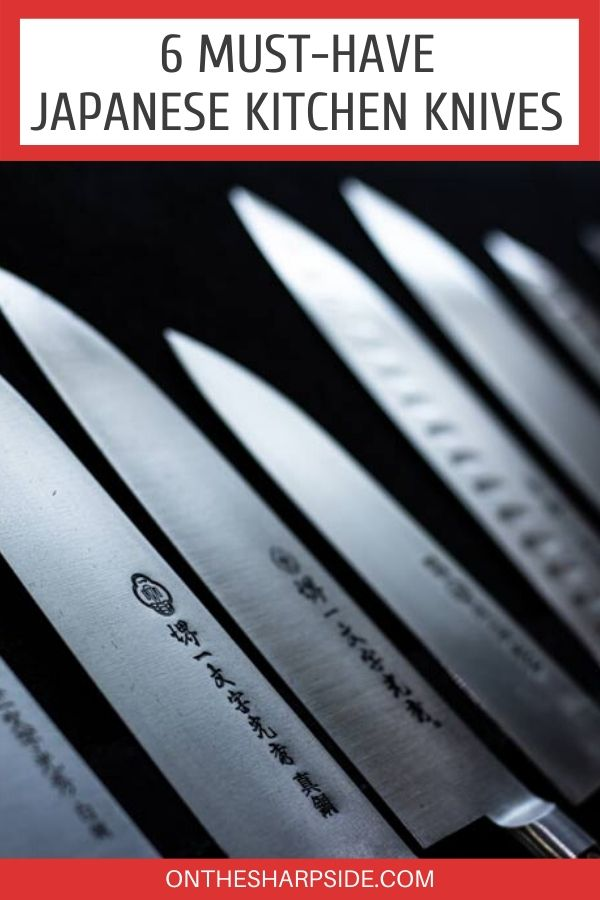 Must-Have Japanese Kitchen Knives